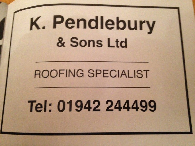 Pendlebury Roofing - Wigan