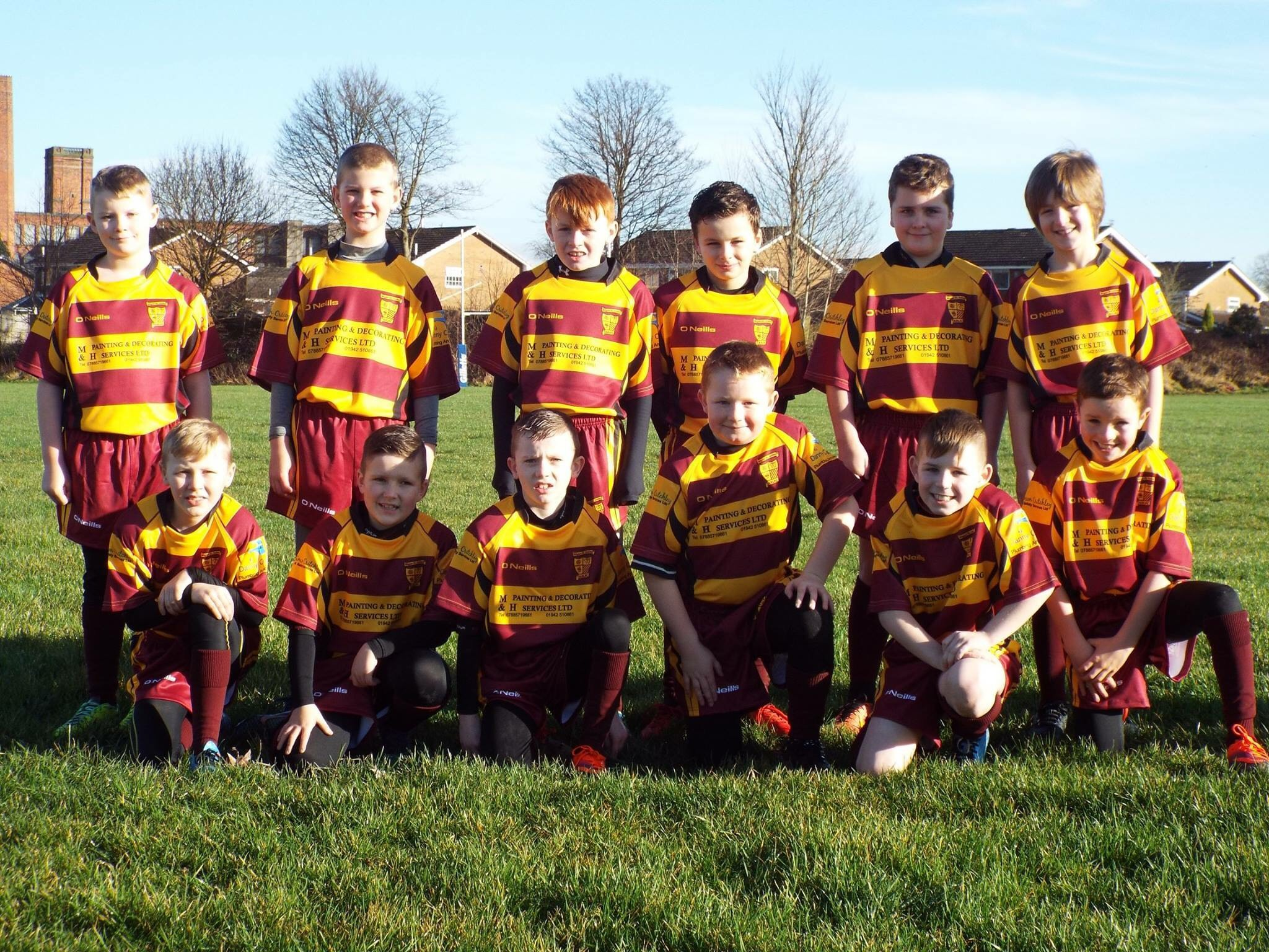Under 9's - Maroons